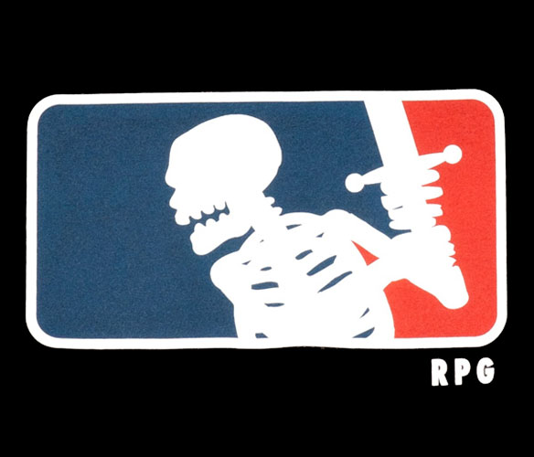 RPG Skeleton T-Shirt