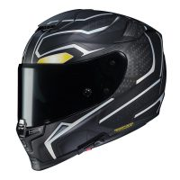 RPHA 70ST Black Panther Motorcycle Helmet