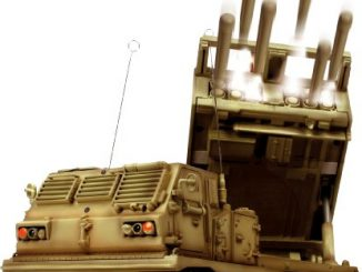 Radio Controlled 1 24th Scale MLRS Multiple Launch Rocket System
