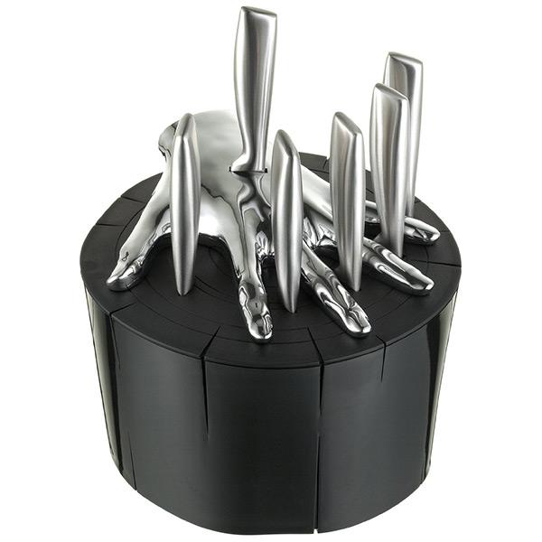 Raffaele Iannello Five Finger Fillet Steak Knife Set
