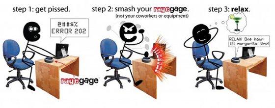 RageGage Smash Pad
