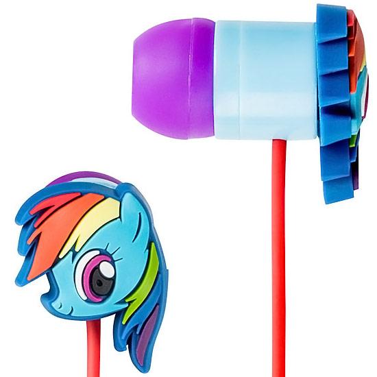 Rainbow Dash Earbuds