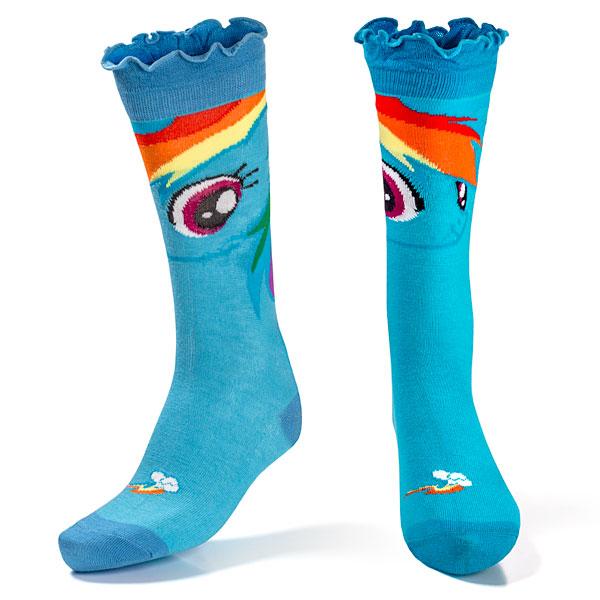 Rainbow Dash Socks