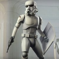 Ralph McQuarrie Star Wars Stormtrooper Statue 6