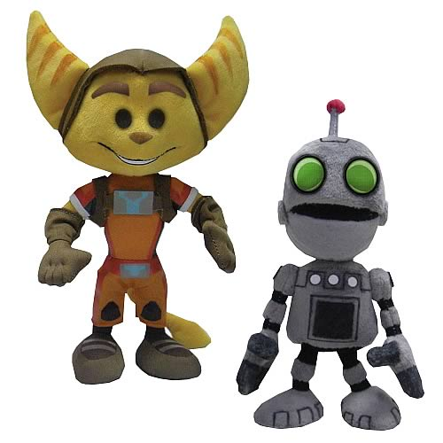 Ratchet and Clank 8-Inch Plush Set