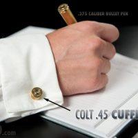 Real Colt .45 Cufflinks