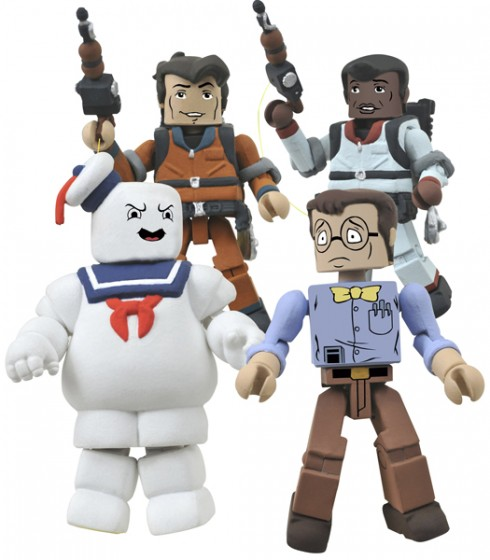 Real Ghostbusters Minimates