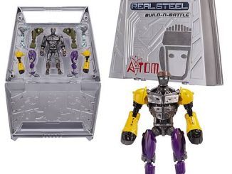 Real Steel Movie Build and Battle Playset