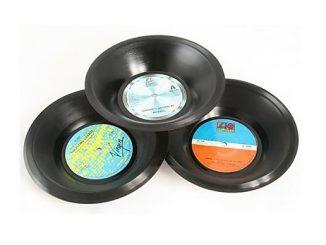 Real Vinyl Bowl