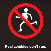 Real Zombies Don't Run T-Shirt