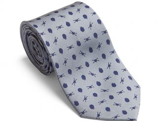 Rebel Fighter Silk Tie