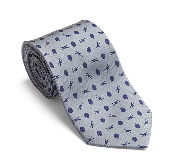 Rebel Fighter Silk Tie