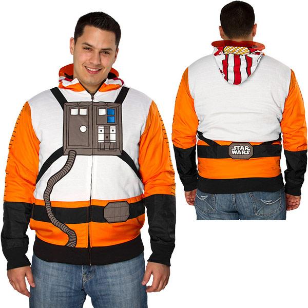 Rebel Pilot Costume Hoodie