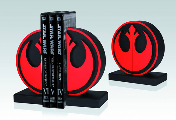 Rebel Seal Star Wars Bookends