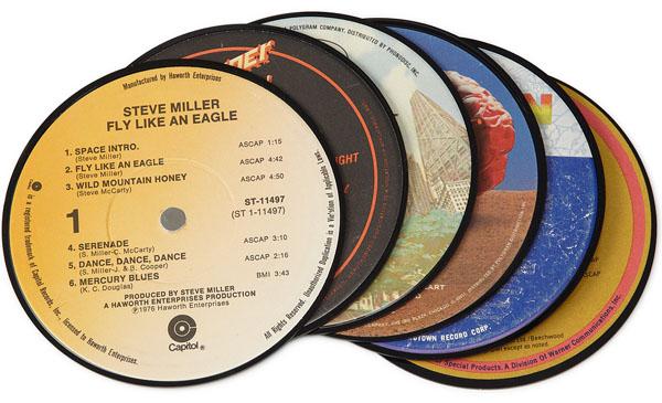 Record Fridge Magnets