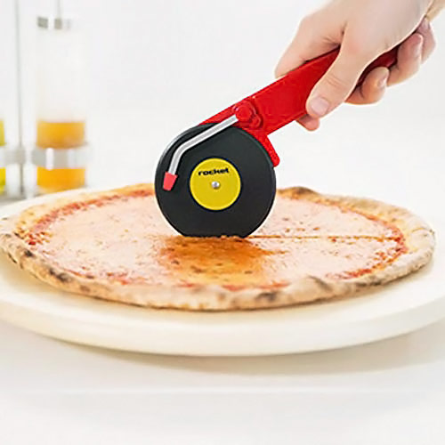 Record Player Styled Pizza Cutter