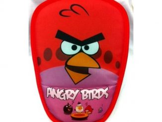 Red Angry Bird Face Mouse Pad with Wrist Rest