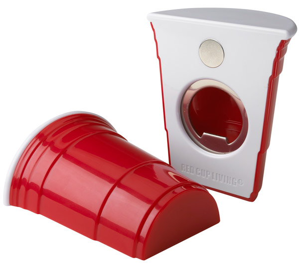 Red Cup Party Bottle Opener