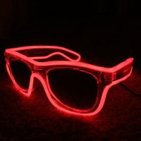 Red Glowing Sunglasses
