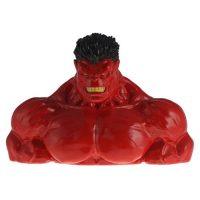 Red Hulk Resin Coin Bank