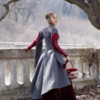 Red Riding Hood Coat Back