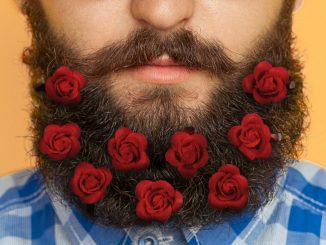 Red Roses Beard Bouquet
