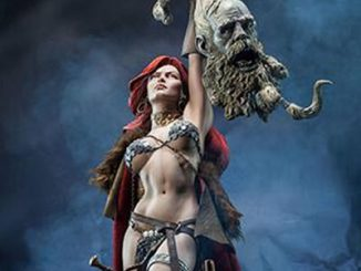 Red Sonja Premium Format Figure Close-Up