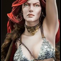 Red Sonja Premium Format Figure Detail