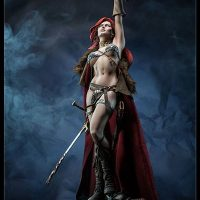 Red Sonja Premium Format Figure with Axe