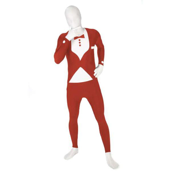 Red Tuxedo Morphsuit