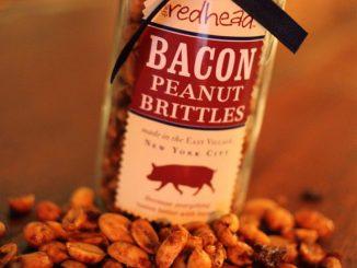 Redhead Bacon Peanut Brittle