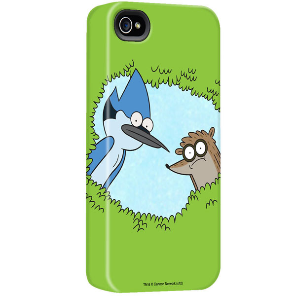 Regular Show Mordecai and Rigby iPhone Case