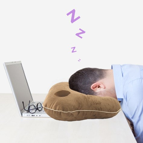 Relaxso EZSLEEP Face Down Speaker Pillow