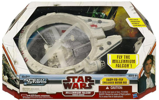 Remote Controlled Indoor Millennium Falcon