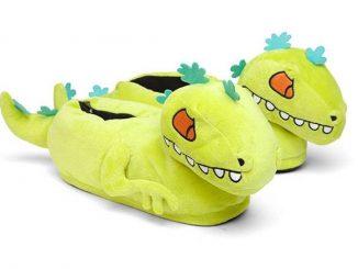 Reptar Rugrats Plush Slippers