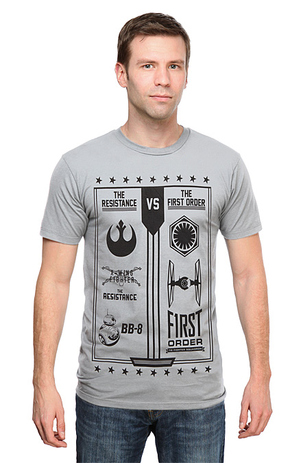 Resistance vs. First Order T-Shirt