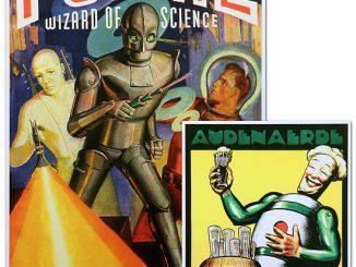 Retro Artwork as seen on Big Bang Theory