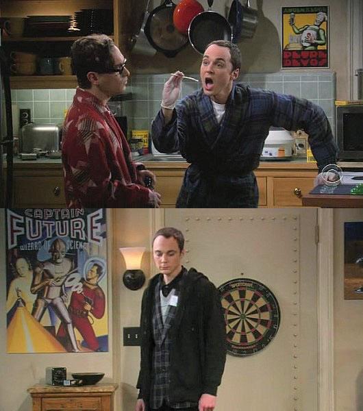 Retro Artwork from Big Bang Theory
