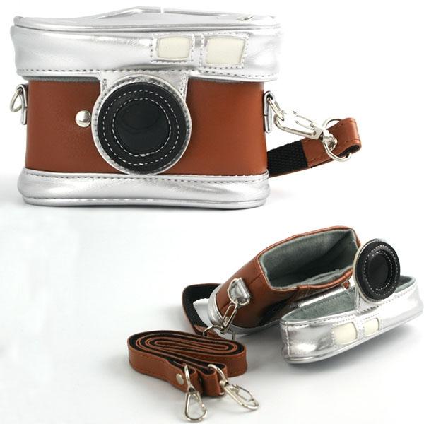Retro Camera Styled Purse