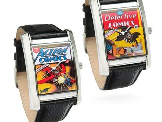 Retro DC Comic Book Watches