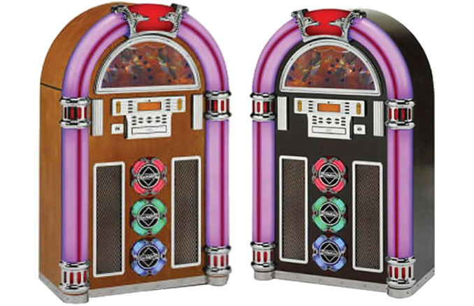 Retro Full-Size CD/MP3 Jukebox