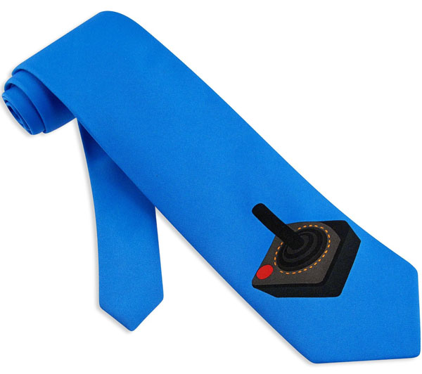 Retro Joystick Tie