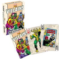 Retro Marvel Villains Playing Cards