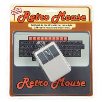 Retro Mouse and Mousepad