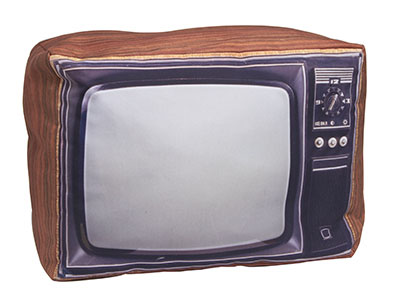 Retro Pillow TV