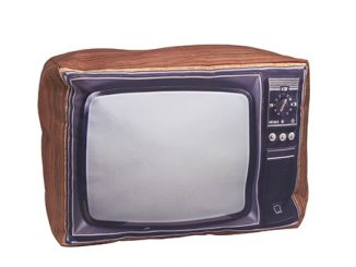 Retro Pillow Television