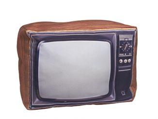 Retro Pillow Television