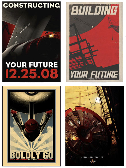 Retro Star Trek Movie Posters