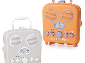 Retro styled beach speaker