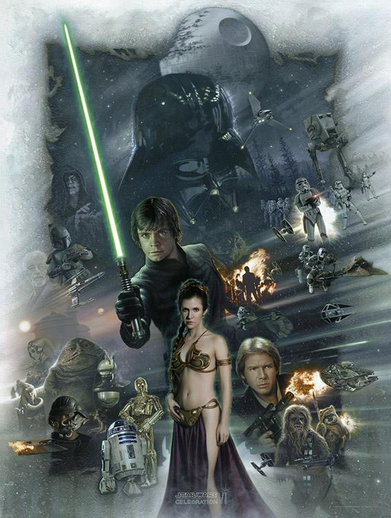 Return of the Jedi Celebration Artwork